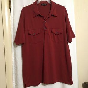 Kenneth Cole knit shirt. Size XL.
